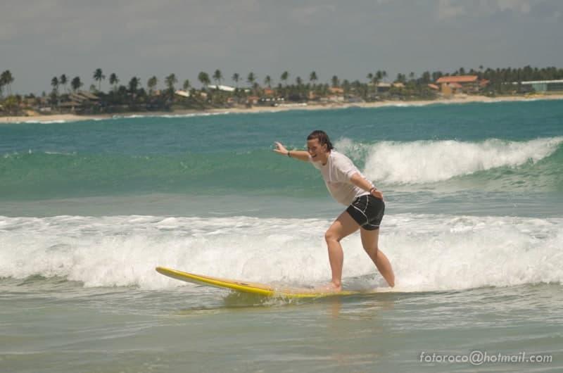 Learn surfing in Porto de Galinhas
