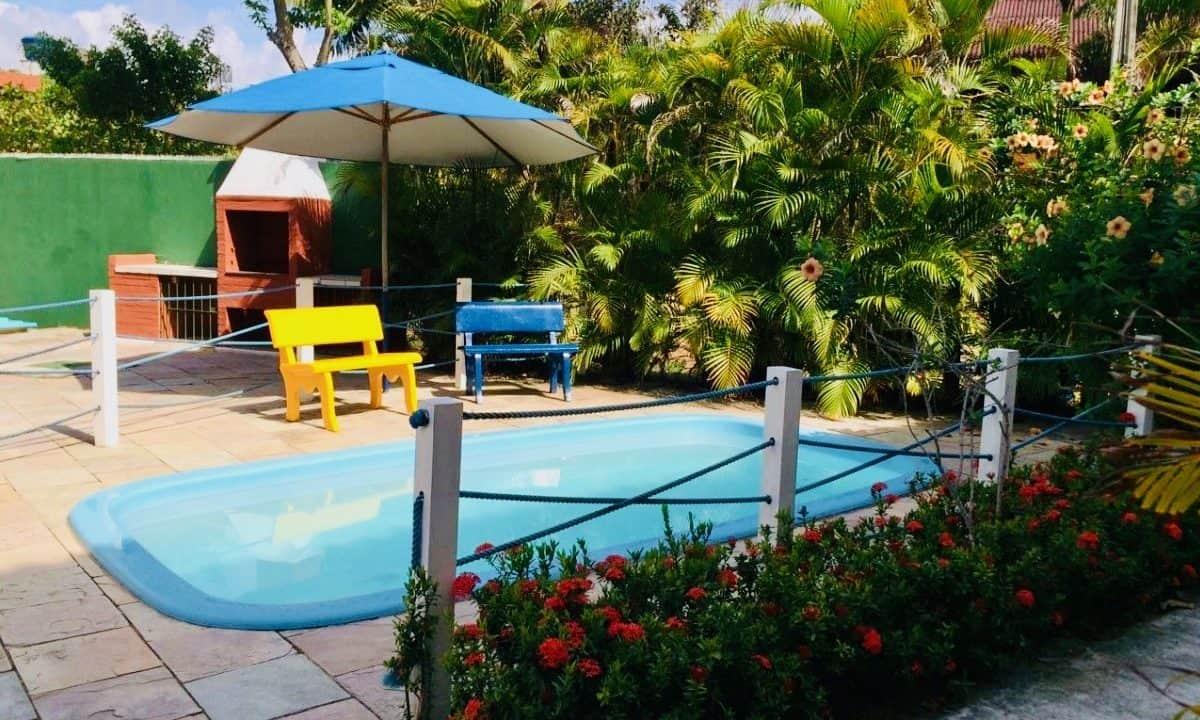 Porto de galinhas temporary rent with pool