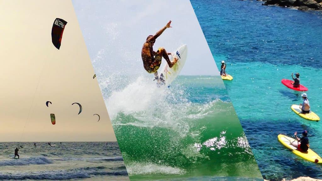 Feriados em Brasil: surf em Cupe e Maracípe