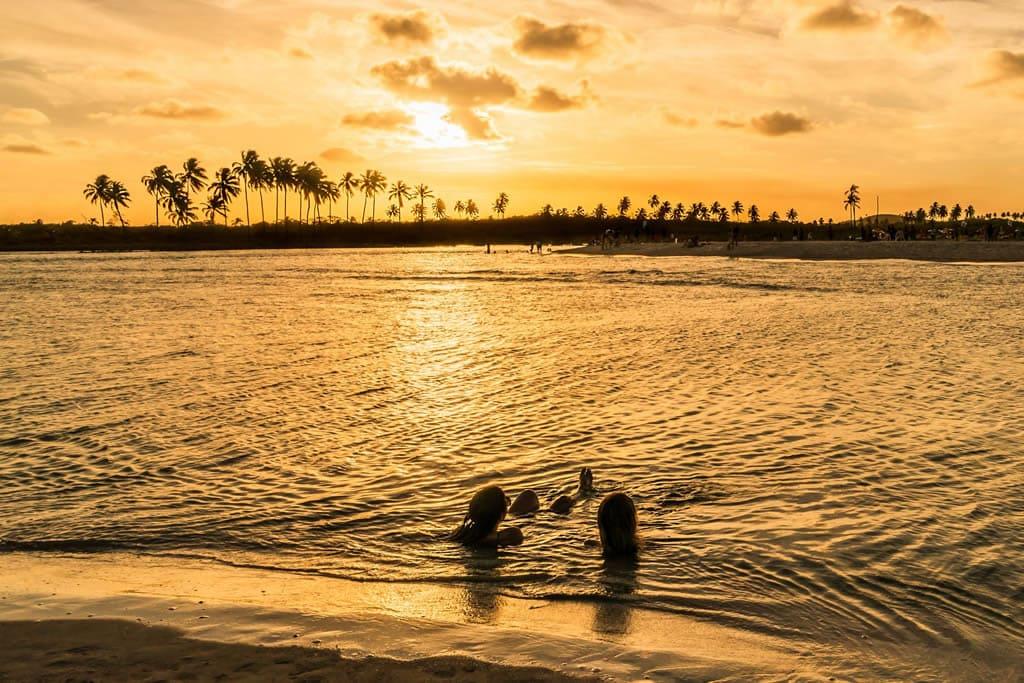 Praia de Carneiros e Praia de Maragogi, Pernambuco