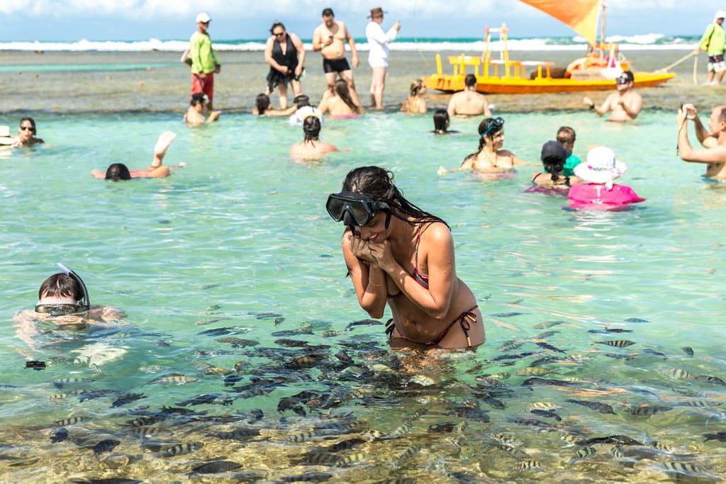 Os 5 destinos com playas de Brasil: Praia de Porto de Galinhas