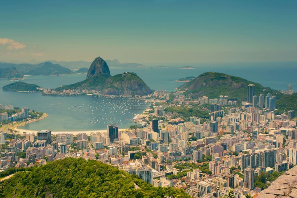 Os 5 destinos com playas de Brasil: Praia do Rio de Janeiro