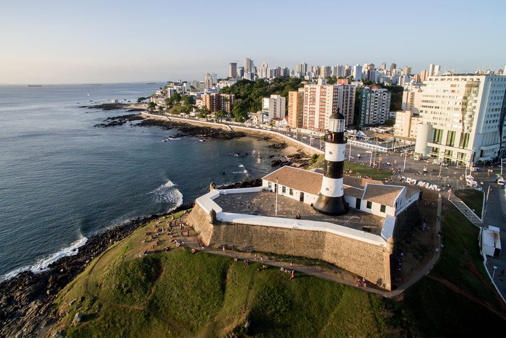 Os 5 destinos com playas de Brasil: Praia de Salvador