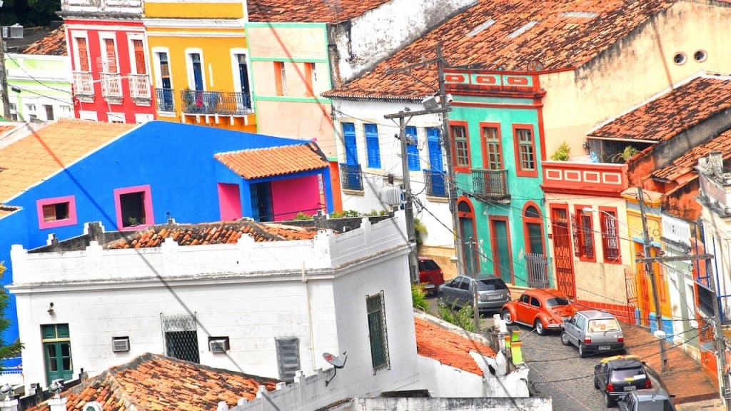El Centro histórico de Olinda