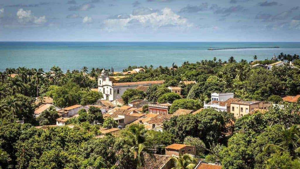 Vista aérea de Olinda