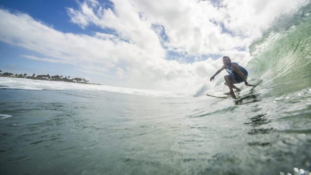 The best waves for surfing in Brasil