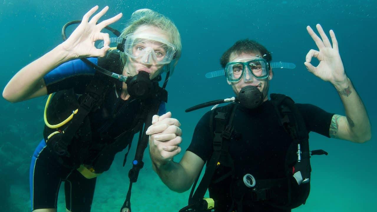 Diving in Porto de Galinhas