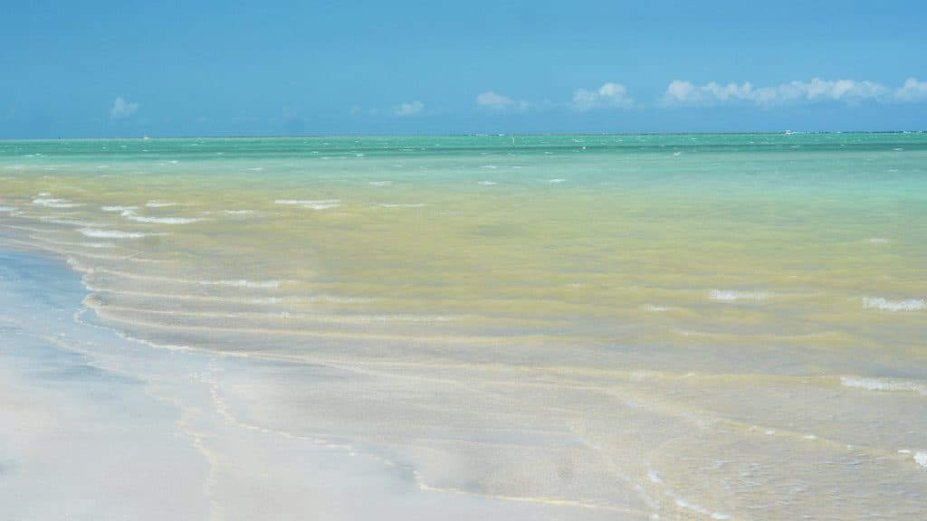Photo of clear blue in Antunes Beach