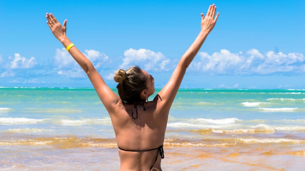 Enjoy Antunes beach in Brazil