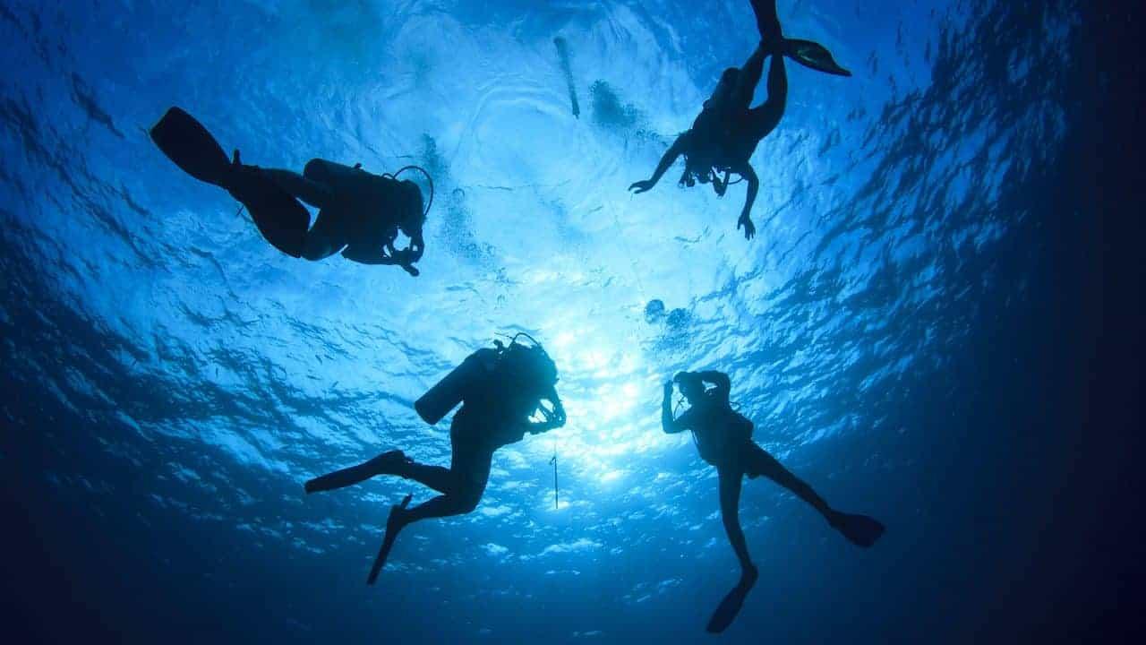 Scuba diving in Porto de Galinhas
