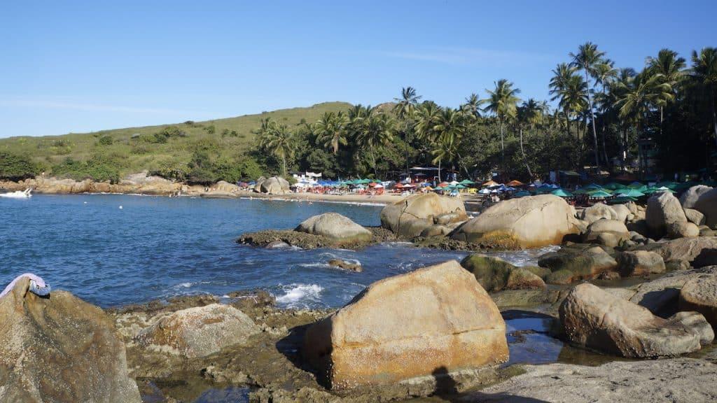 Calhetas Beach coast