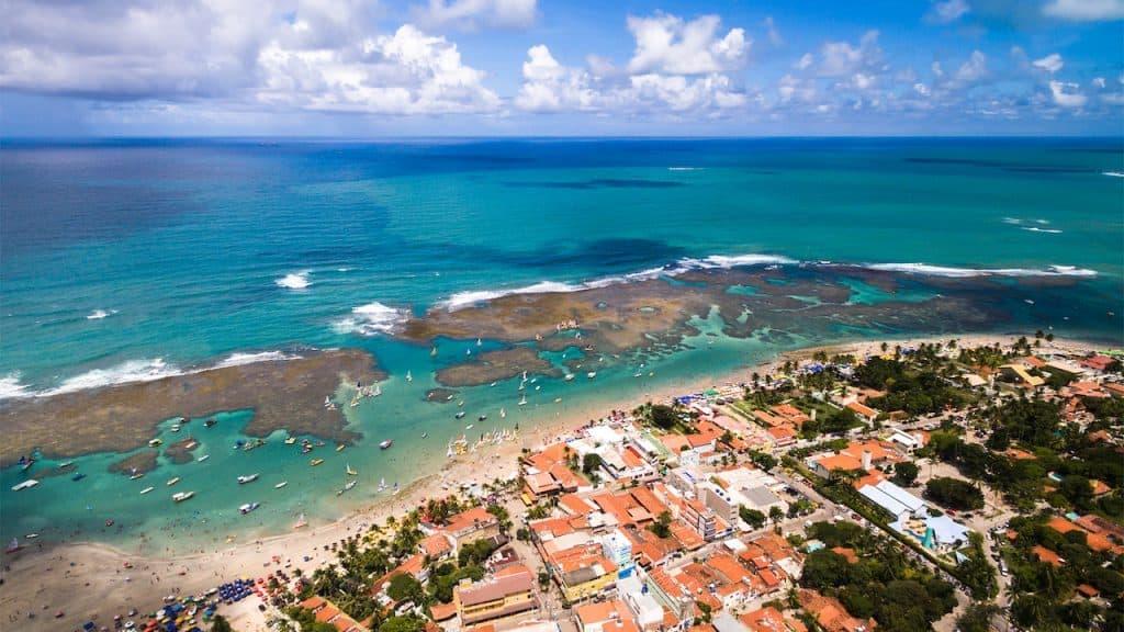 Main beach Porto de Galinhas - Praia Central
