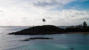 La bella Isla de Santo Aleixo en Brasil