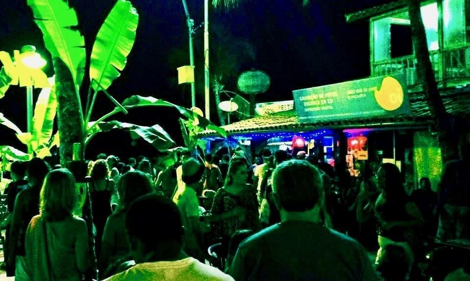 La noche en Porto de Galinhas: Giroskka Bar