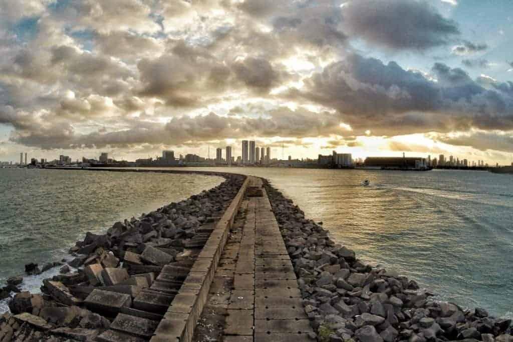 Cidade de Recife, Brasil