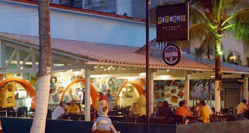 Fiteiro Bar en la noche de Porto de Galinhas