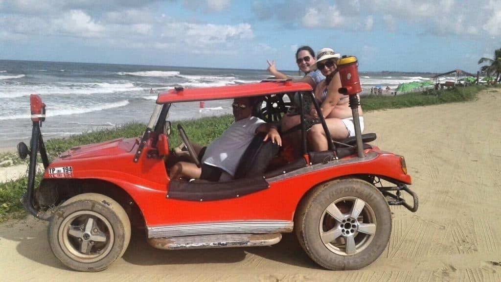 Paseo de buggy Punta a Punta desde Porto de Galinhas a Pontal de Maracaipe