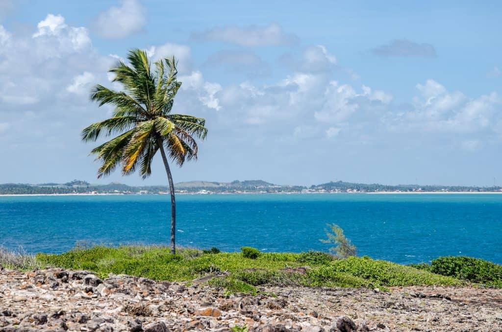 Bela ilha de Santo Aleixo