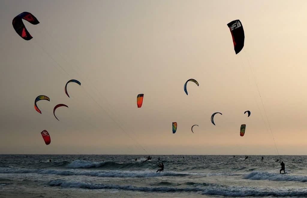Kitesurf in Maracaipe, Kitesurf in Porto de Galinhas
