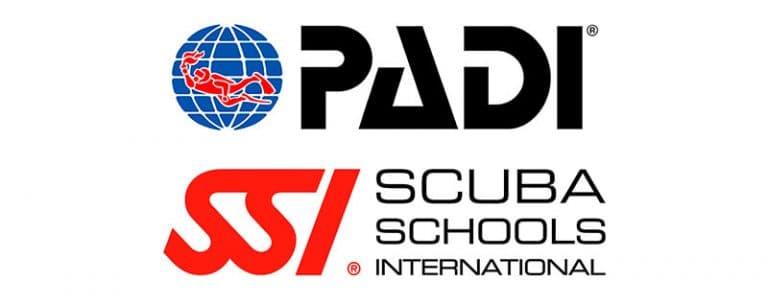 Scuba Diving Schools in Porto de Galinhas Padi or SSI