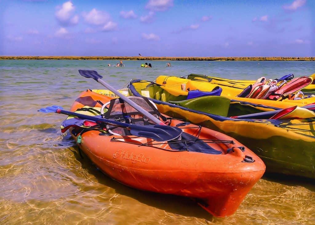 Rent a kayak in Muro Alto Beach