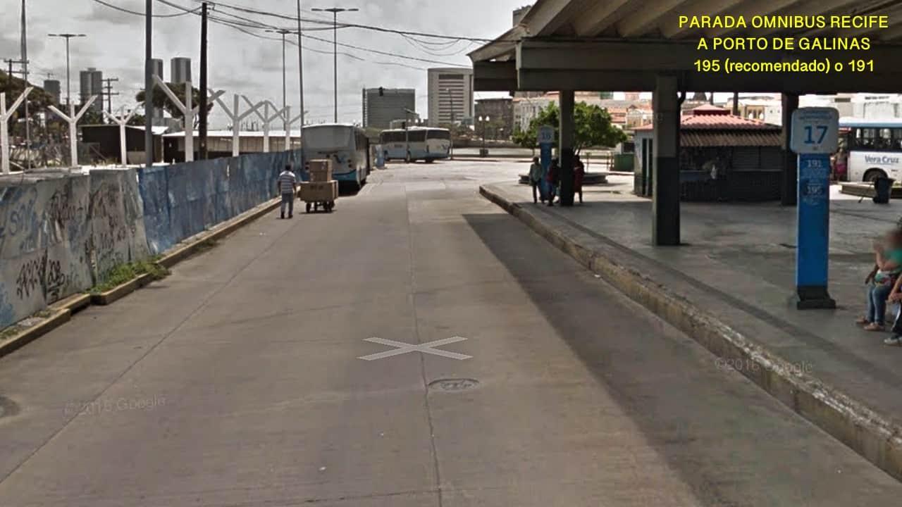 Cais de Santa Rita onibus de Recife a Porto de Galinhas