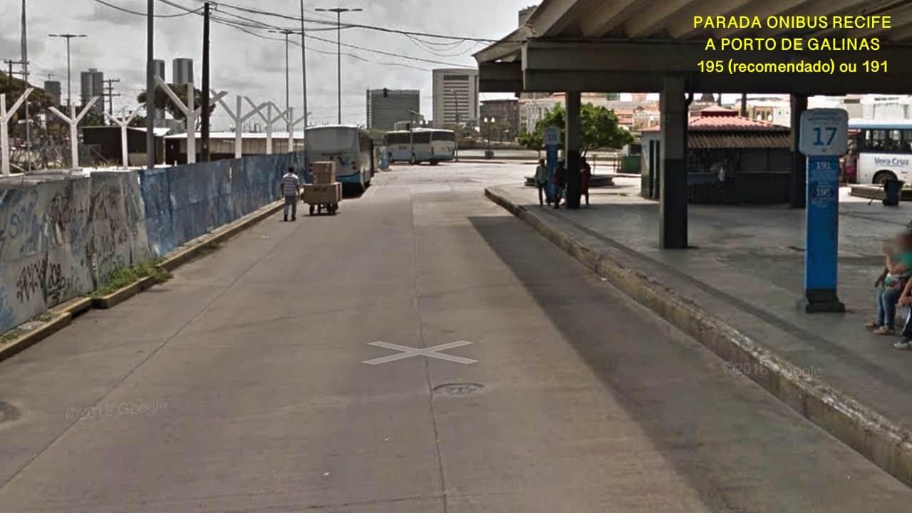 Cais de Santa Rita omnibus de Recife a Porto de Galinhas